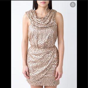 Sass & Bride copper dot dress 💰